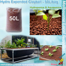 Hydro Expended Clay Ball 50L/Bag Growing Medium Aquaponics Hydroponic Grow Media