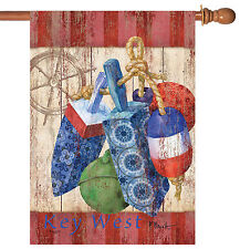 NEW Toland - Rustic Floats and Wheel Key West - Regional Florida House Flag