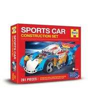Haynes Stainless Steel Sports Car Building, Construction Set, Kit, Lego, Meccano