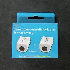 2pcs X  GC Gamecube Controller Gamepad Converter Adapter for Wii , U to Mayflash