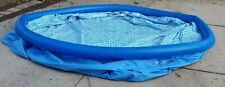 """AS IS USED INTEX EASY SET POOL 15' X 48"""" NEEDS PATCH TO REPAIR BOTTOM SEE PIC NJ"""