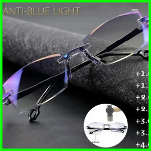 Progressive Dual-Purpose Reading Glasses With High Hardness And Anti-Blue