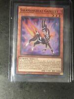 Yugioh! Salamangreat Gazelle - SDSB-EN003 - Super Rare - 1st Edition Near Mint,