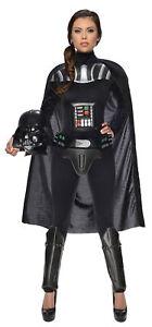 Darth Vader Adult Women Costume Star Wars Halloween Female Rubies 887594