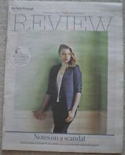 Natalie Dormer - Daily Telegraph Review – 8 August 2015