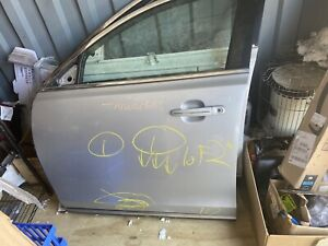2009-2014 Lincoln MKS Silver Front Left Complete Driver Door