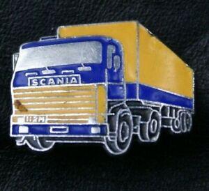 Motoring Truck Pin Badge SCANIA