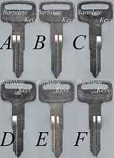 Replacement Key Blank Fits 2001 2002 2003 2004 Suzuki Intruder Savage Madura