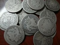 Morgan Silver Dollar 1878-1921 US $1 Coin 90% Silver Bullion Culls Invest