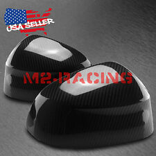 FOR BMW F15/16/25/E26 X3/4/5/6 REAL CARBON FIBER SIDE MIRROR COVERS STICK-ON