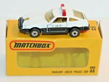 Vintage Matchbox MB44 Fairlady 280ZX Police Car w/ Japan Box