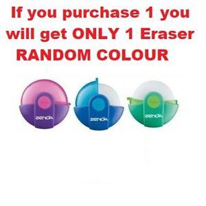 1 x Maped Zenoa Pencil Eraser, Kids School Stationery, RANDOM COLOUR✏️✍️🏫✍️✏️
