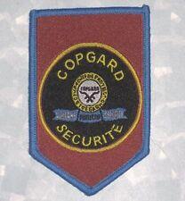 Copgard Securite Patch - Security Guard