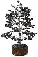 Black Tourmaline Stone Tree Gems Reiki Spiritual Feng Shui Table Decor