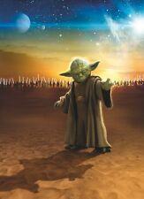 Fototapete 4-442 Star Wars Master Yoda 184 x 254 cm - keine Lieferkosten - exklu