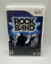Rock Band (Nintendo Wii, 2008) Complete