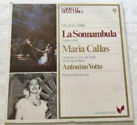 LA SONNAMBULA VINCENZO BELLINI LP MARIA CALLAS VOTTO VINYL ITALY 1980 NM/NM