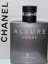 ALLURE Homme Sport Eau Extreme Eau de Toilette Concentree 3.4oz Vintage bottle