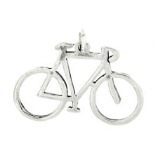 Sterling Silver Frame of Bicycle Charm