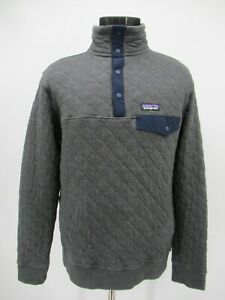 P5909 VTG Men's Patagonia Quilt Snap T Pullover Size M
