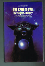 The Seed Of Evil Barrington J. Bayley ( 1979, British Hardcover 1st ed, 1st pr,