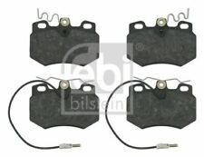 FEBI 16242 BRAKE PAD SET DISC BRAKE Front