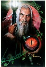 "2006 ""Wizard's Fate"" Lord of the Rings Saruman Limited Giclée Art Print #101/125"