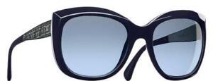 CHANEL sunglasses  - CH5347 c1426/s2 - Blue - Antique Metal - Womens