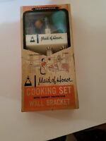 Vintage Maid of Honor Cooking Set Wall Bracket Original Box Baster Thermometer
