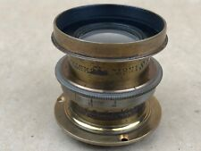 Gundlach Optical Co. 5x8 Inst. Symmetrical Antique Brass Lens
