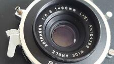 [EXCELLENT] Astragon Wide Angle 90 f6.3 in Seiko Shutter and Nikon Board [RARE]
