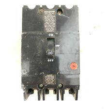 General Electric Circuit Breaker 3 pole, TEY, 20 Amp, 480Y /277 volt