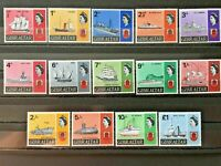 Gibraltar 1967 Post stamps of Gibraltar, Posts with boats and ships, tropic post