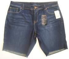 Lucky Brand Womens Denim Jean Shorts Plus Size 24W NWTS Retail $69.50