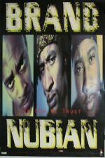 Brand Nubiam   Orig. 1992 Electra Records Promo Poster