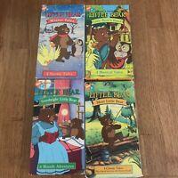 Lot of 4 Maurice Sendak's Little Bear VHS Cassette Tapes Nickelodeon 16 Episodes