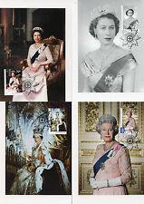 Australia 2015 MAXI Queen Elizabeth II Long May She Reign 5v Set Maxi Cards