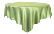 "Satin Tablecloth Square Cover for Wedding Party Restaurant Banquet Decor 57""X57"""