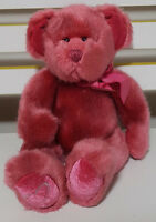 RUSS BERRIE CHERI TEDDY BEAR PLUSH TOY! SOFT TOY ABOUT 23CM SEATED KIDS TOY!