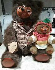 "Raikes Bear Collection - ""Sebastian"" - 5248/7500, 20"" tall - 1985 - Pre-owned"