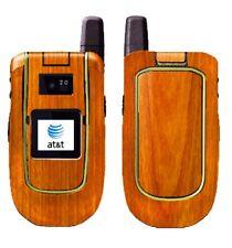 Skinomi Light Wood Full Body Skin+Screen Protector for Motorola Tundra VA76R