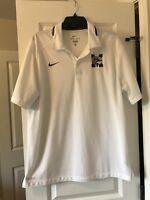 Nike Dri-Fit Golf Polo Shirt Size Men's large Polyester