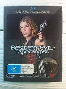 Resident Evil - Apocalypse (Blu-ray, 2007) Action Adventure Milla Jovovich