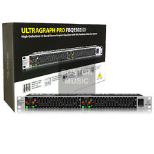 Behringer FBQ1502HD Professional 15-Band Equalizer Ultragraph 748252153241 MINT