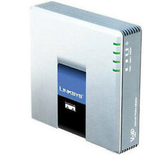 Linksys Pap2T - ATA, 2 porte FXS, supporta 2 Telefoni e Fax analogici in VoIP