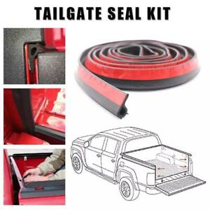 New 5M Tailgate Seal with Taper Seal Tape Stripping Cover For Pickup Truck