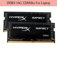 Pour HyperX Impact 16 Go 32 Go 64 Go DDR4 3200MHz PC4-25600 Laptop SO-DIMM ARFR