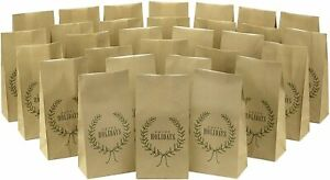 30ct Hallmark Happy Holidays Party Favor & Wrapped Treat Bags Christmas Hanukkah
