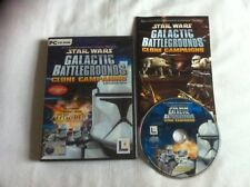 Star Wars Galactic Battlegrounds Clone Campaigns Expansion Pack for PC Complete