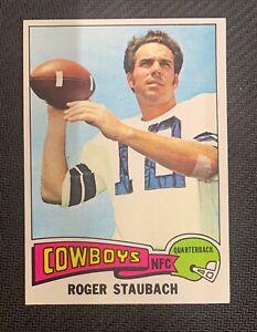 1975 Topps Roger Staubach #145